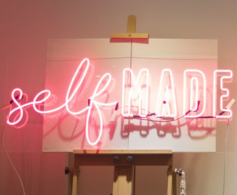 Alex Kate Knight (Alexandra Stone) with her new venture SelfMade