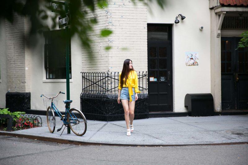 Summer Y.L. in Silk by Nancy in West Village