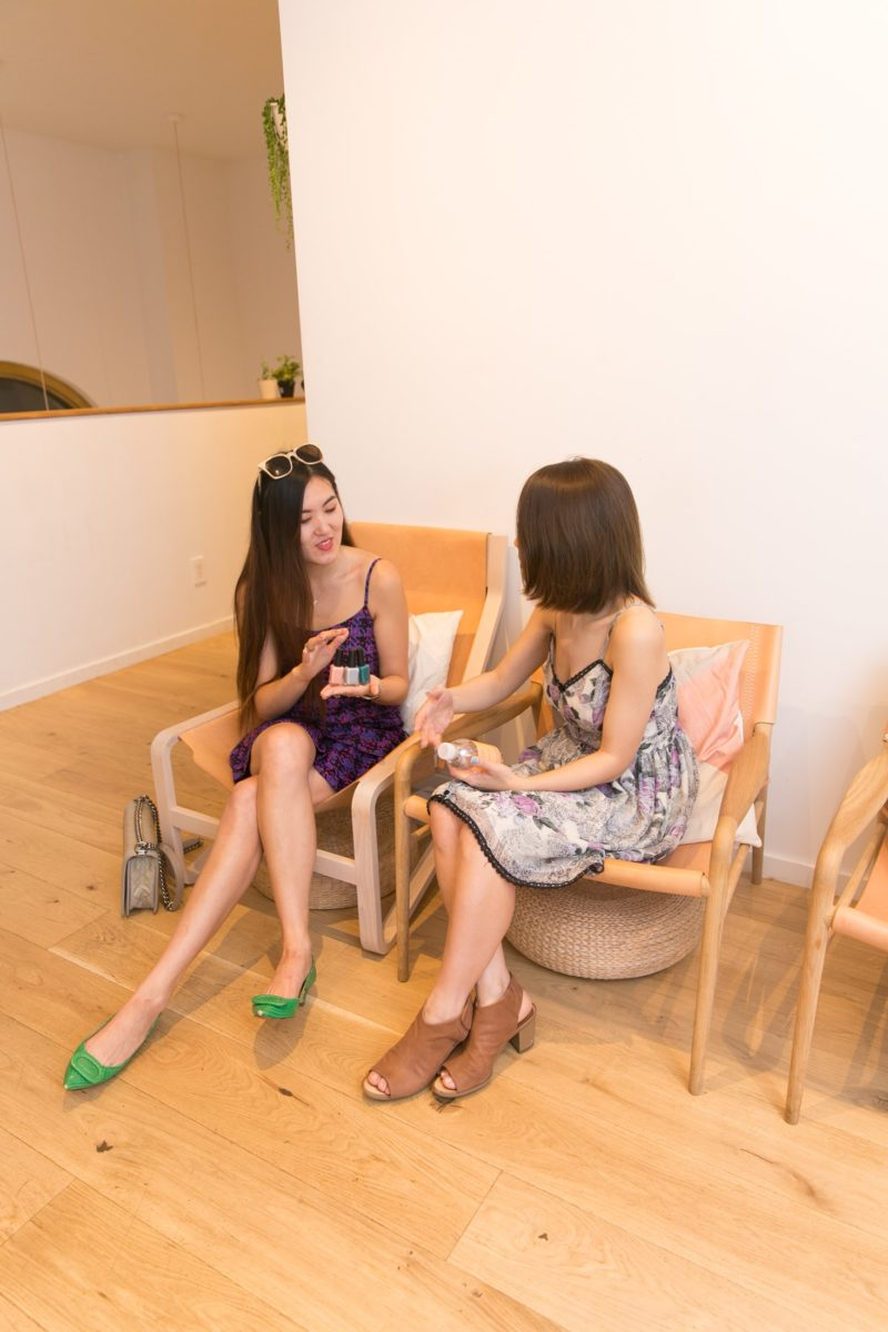 Summer Y.L. with Amy Ling Lin at Sundays Studio
