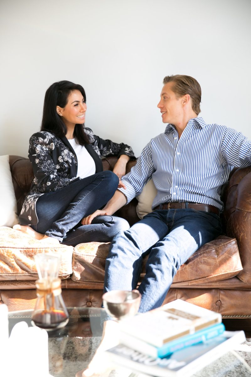 Diana Reyes and Matthew Bills