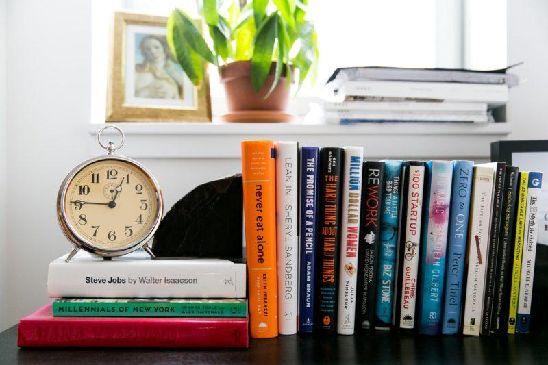 Parisa Wang Bookshelf