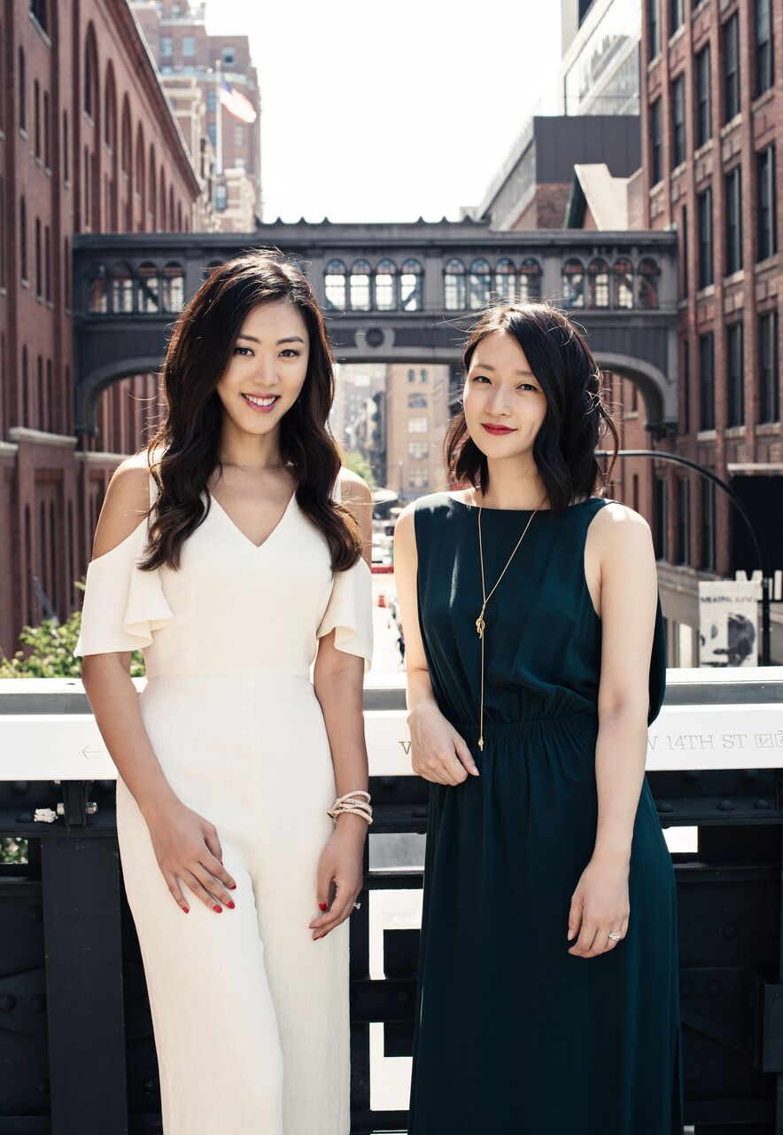 Christine Chang and Sarah Lee